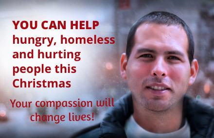 Help men, women, and children this Christmas.