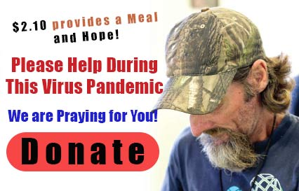 Donate to help the homeless and needy experience changed lives during this corona virus pandemic.