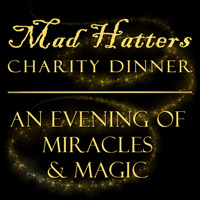 Mad Hatters Dinner Invitation